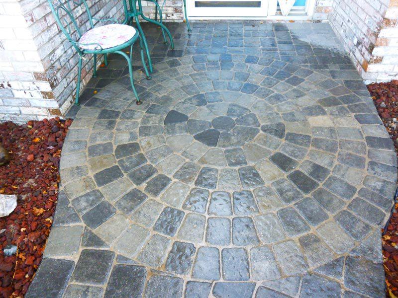 circle stone entry