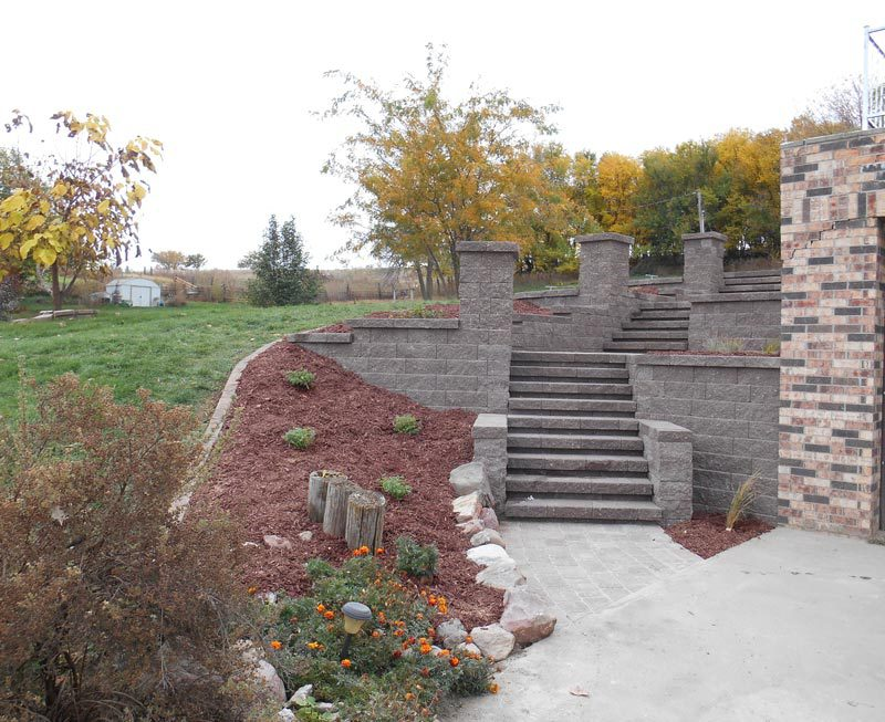 tiered steps