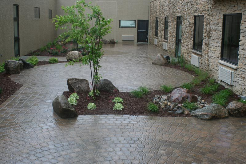 outdoor garden patio
