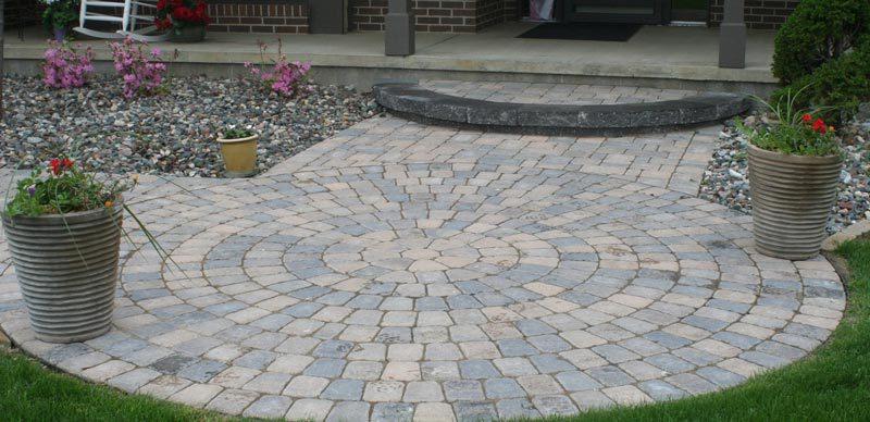 circle design entry