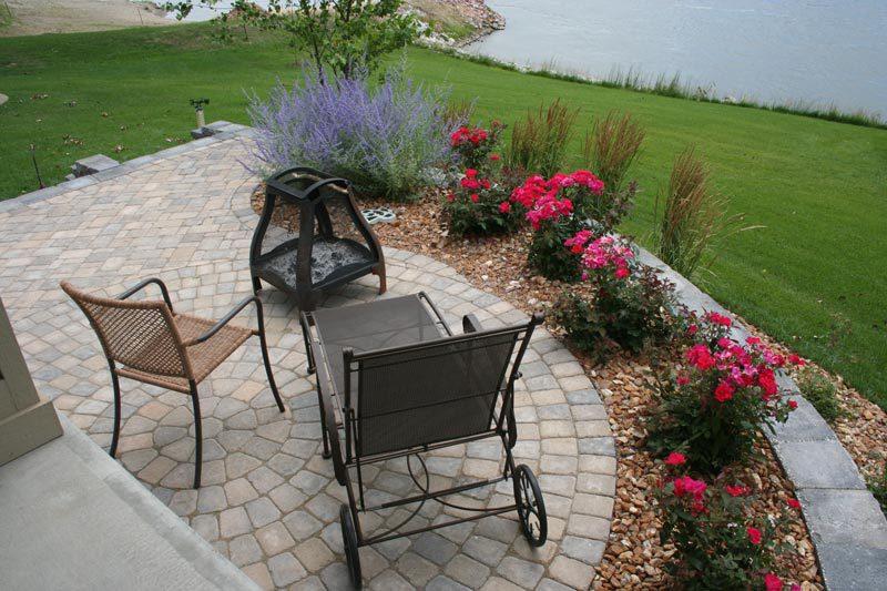 patio landscape