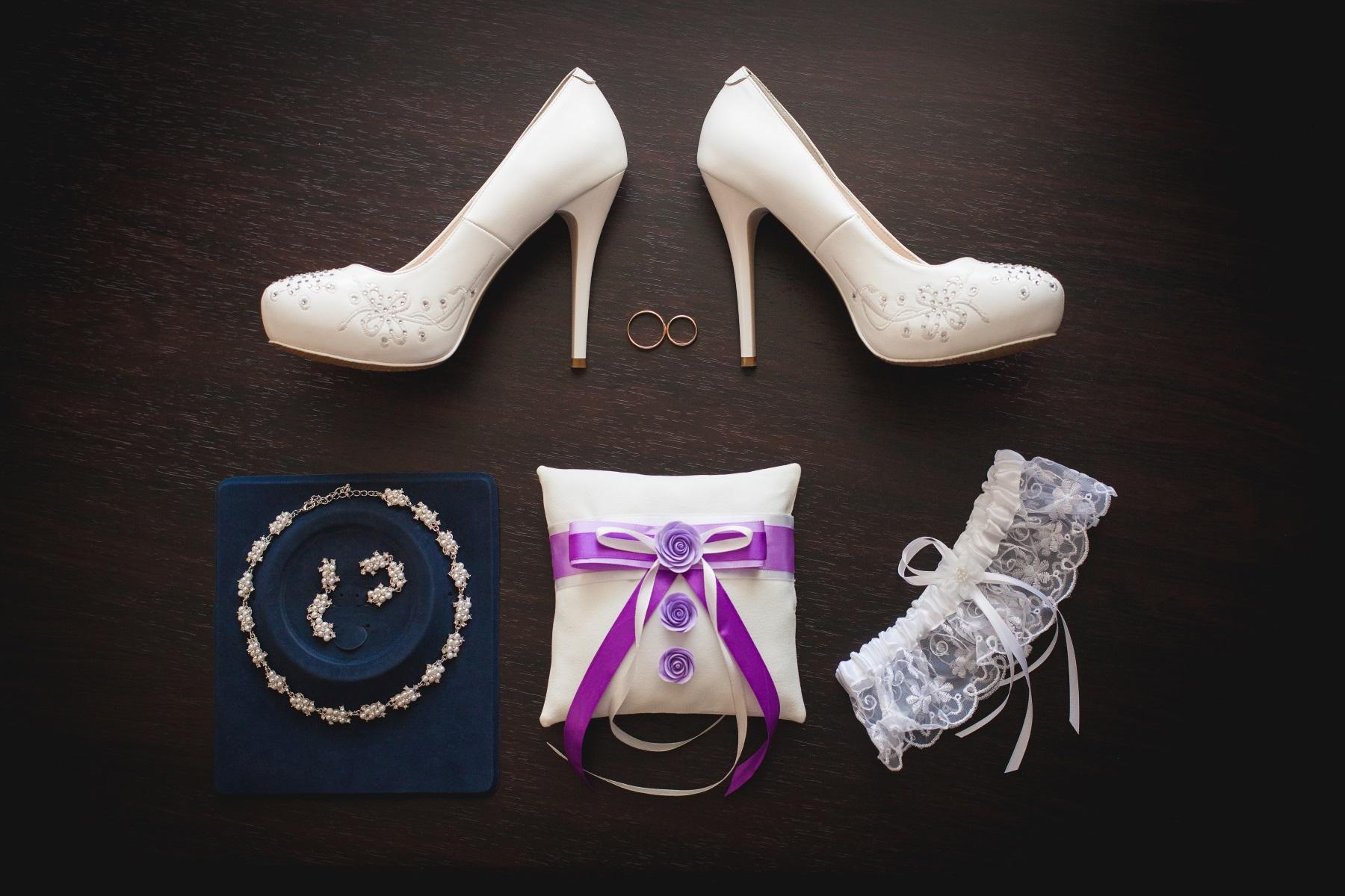 Scarpe da sposa e accessori