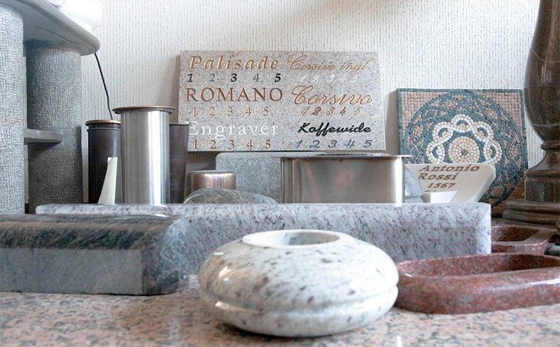 prodotti in marmo