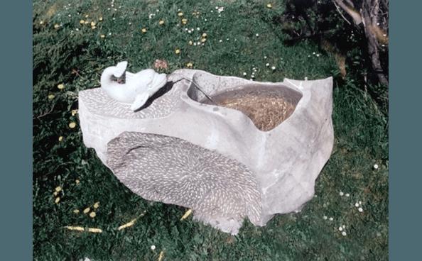 fontanella in marmo