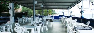 Albergo, ristorante, la terrazza