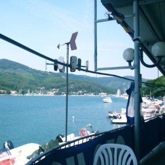 Ristorante raggiungibile in barca