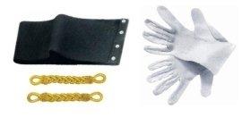 guanti, trecce, fsscia elastica