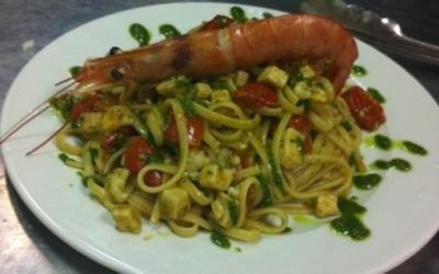 Ristorante specialità pesce a Roma
