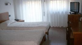 camera doppia della pensione