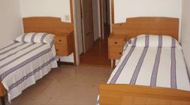 stanza doppia del collegio