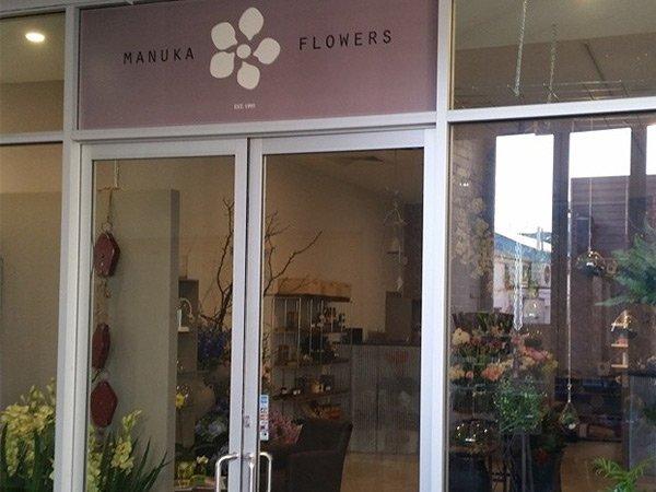 manuka flowers entrance