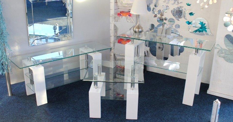 glass showroom interiors