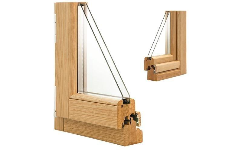 chiusura in legno