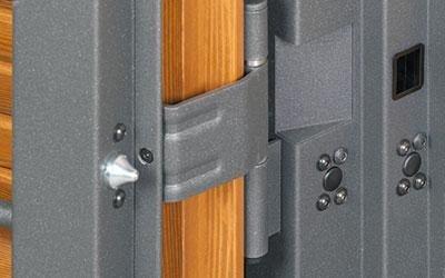 Profilo grata in acciaio zincato