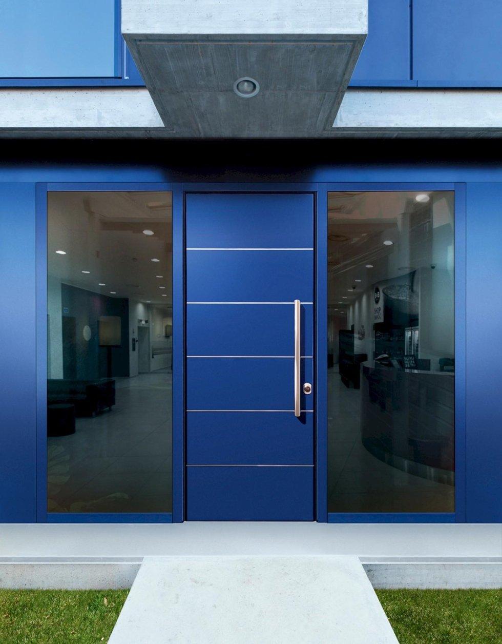 porta blindata bauxt blu