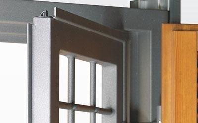 Grata Ecocomb con profilo acciaio zincato