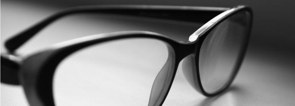occhiali da vista total black