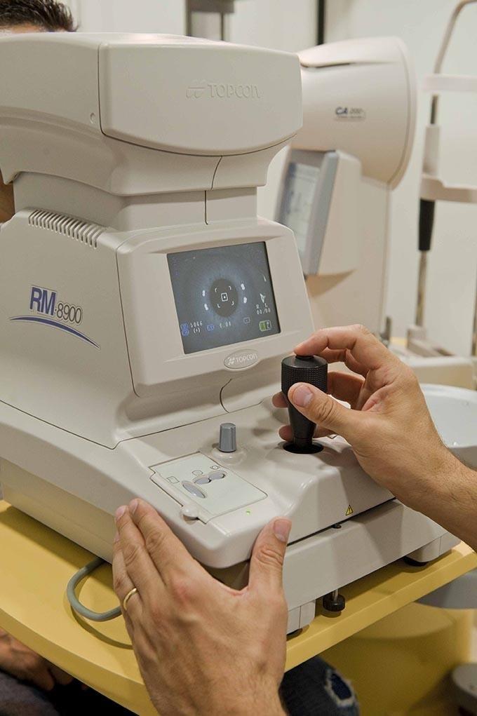 Misurazione della vista - Ottica Videtis - Perugia
