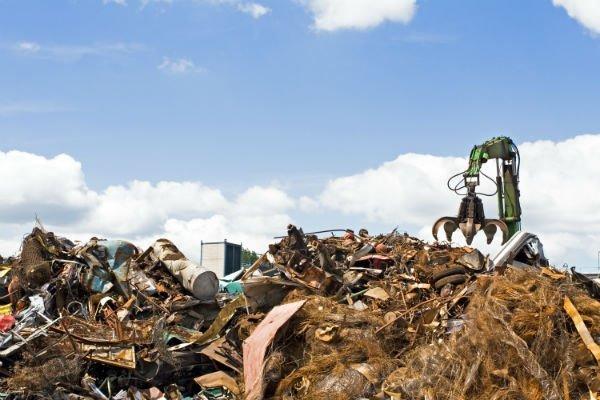sito per lo smaltimento dei rifiuti