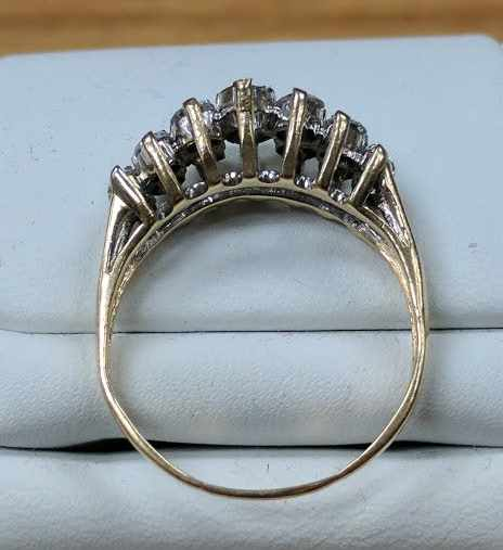 Unique ring designed by Jewelry Clinic