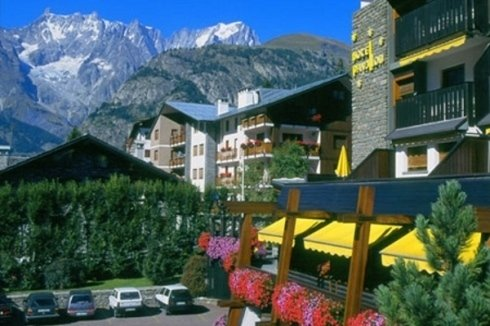 HOTEL PAVILLON - COURMAYEUR - PANORAMIC VIEW