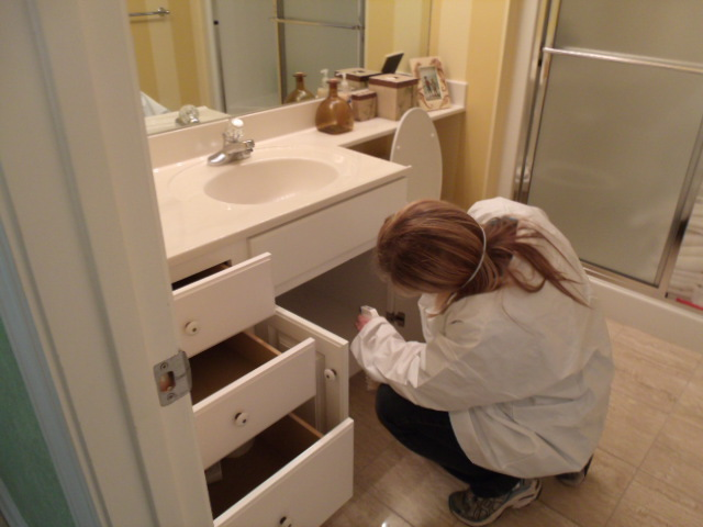 Expert doing mold inspections testing and remediation in Gulf Shores, AL