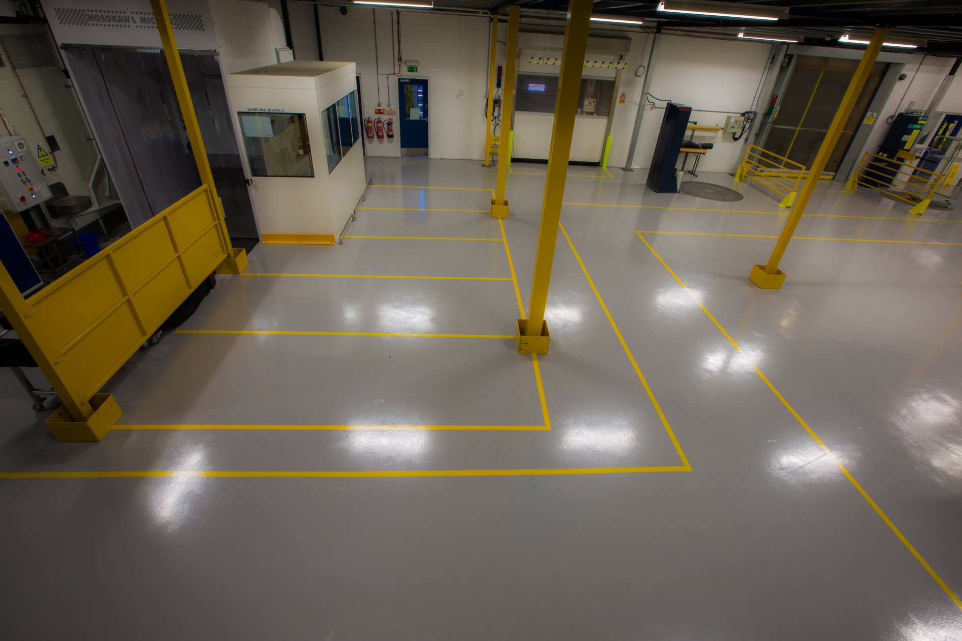 epoxy  workshop flooring
