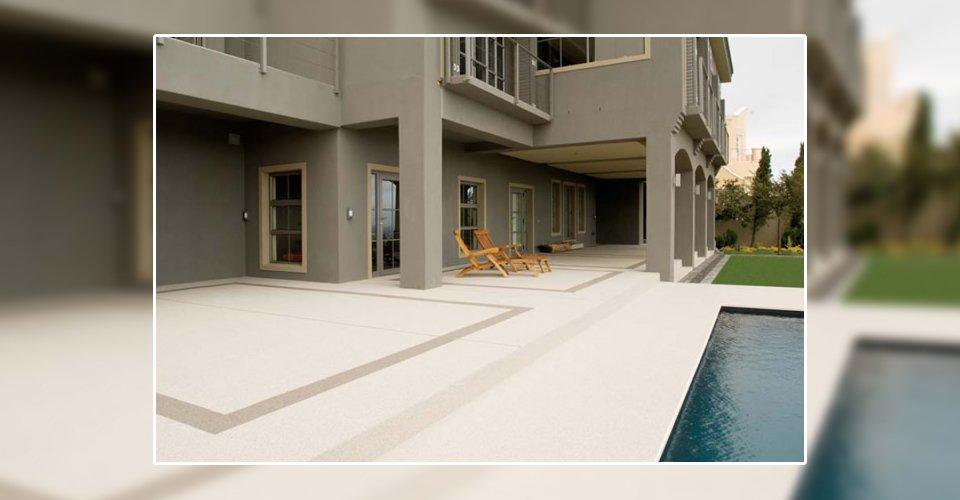 non slip swimming pool side