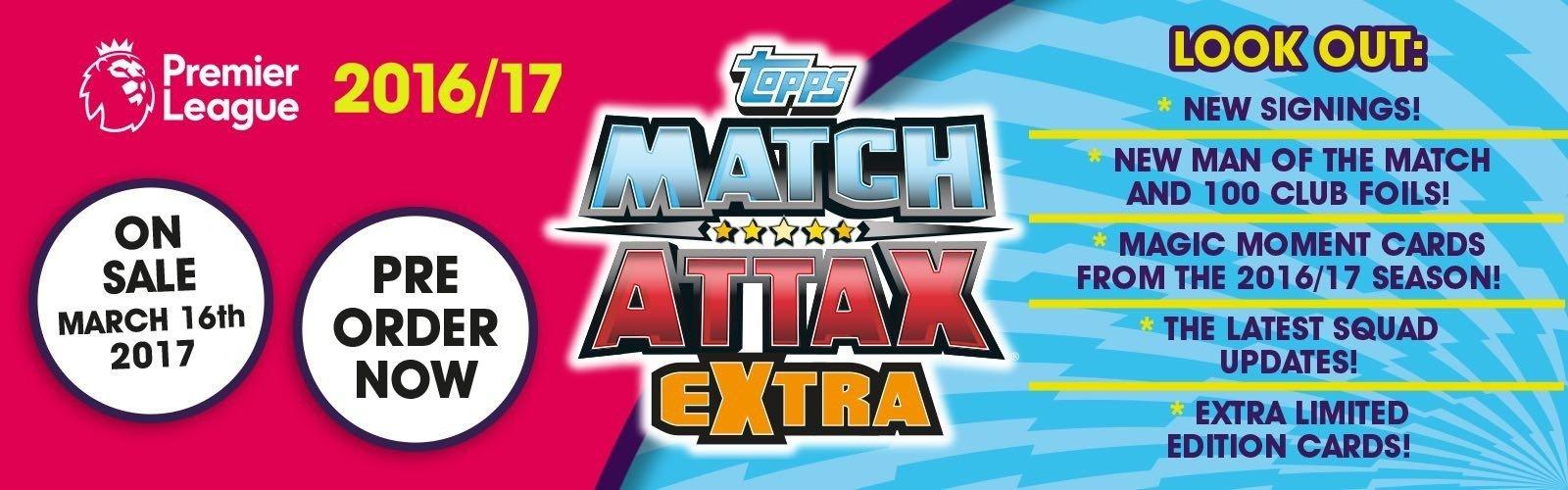 Match Attax Extra 2016
