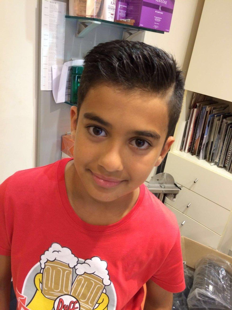 taglio capelli bambino genova
