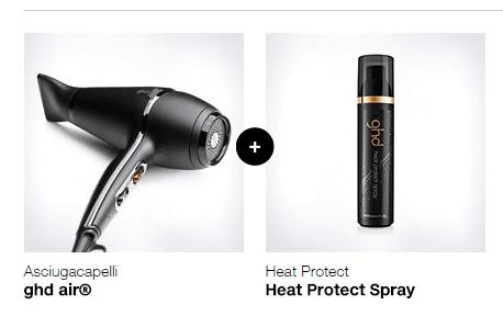 phon ghd air + HEAT PROTECT SPRAY