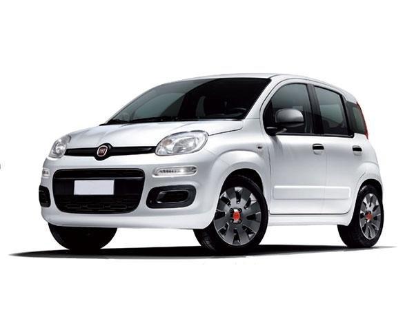 macchina bianca marchio Fiat
