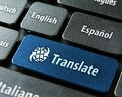 website and web page translations