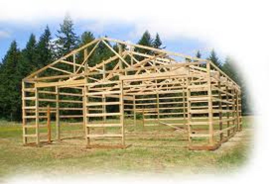 Pole buildings for Pole barn drawings