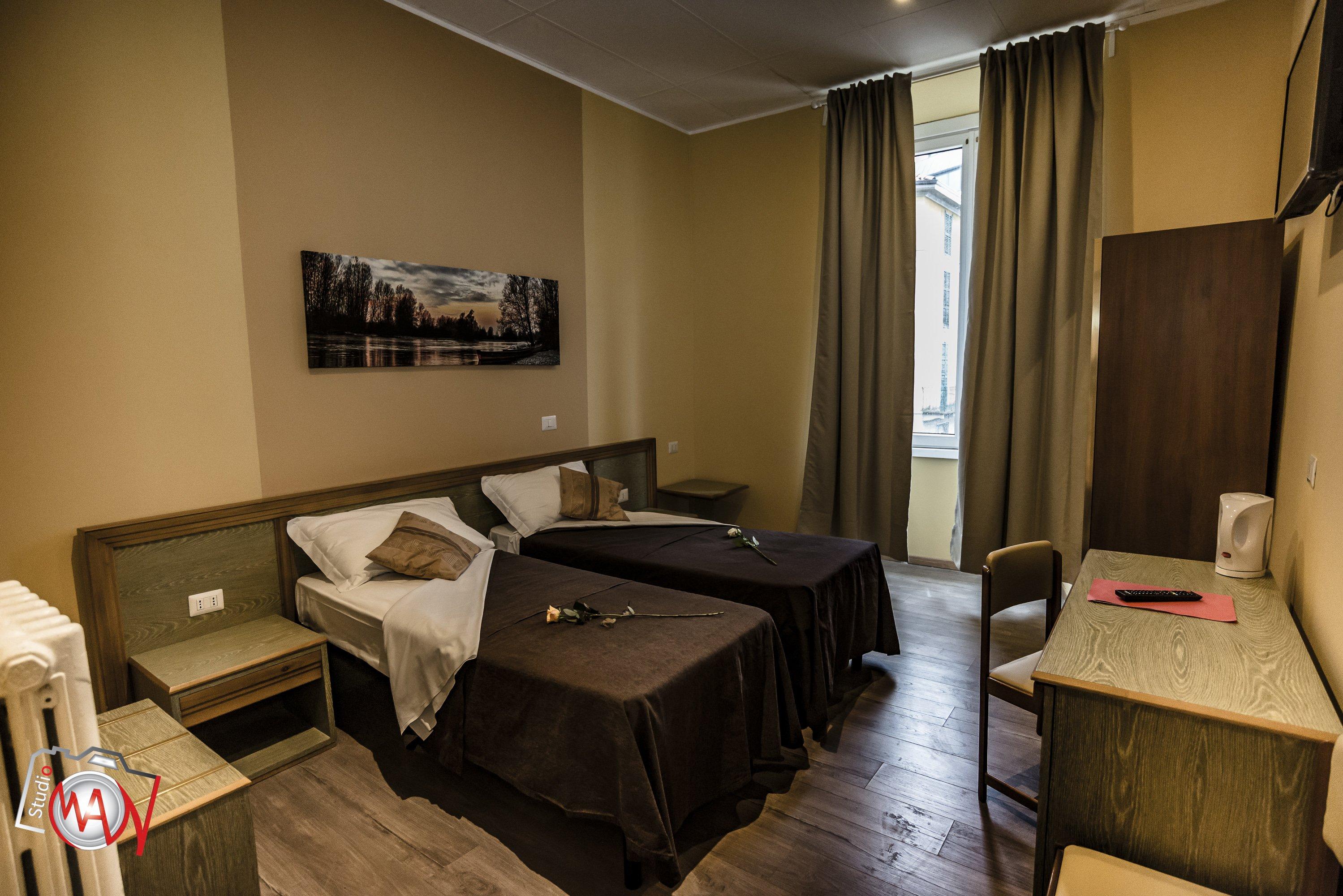 двухместный номер в гостинице в Лекко