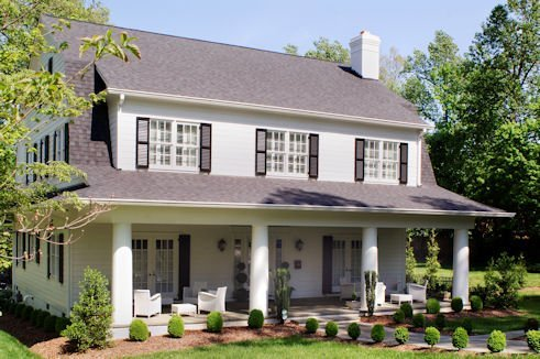 Period Revival Homes Residential Architecture In Greensboro Nc