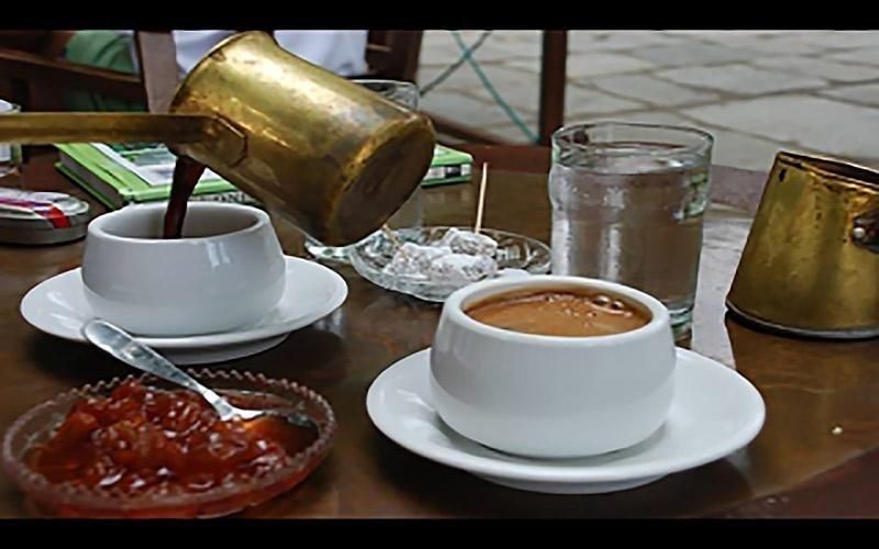 Caffè greco al Ristorante greco Kalimera in Firenze