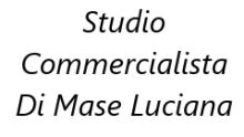 STUDIO COMMERCIALISTA DOTT.SSA DI MASE LUCIANA