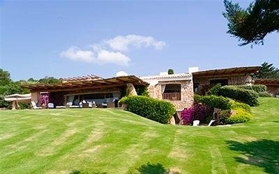 Villa design in Costa Smeralda
