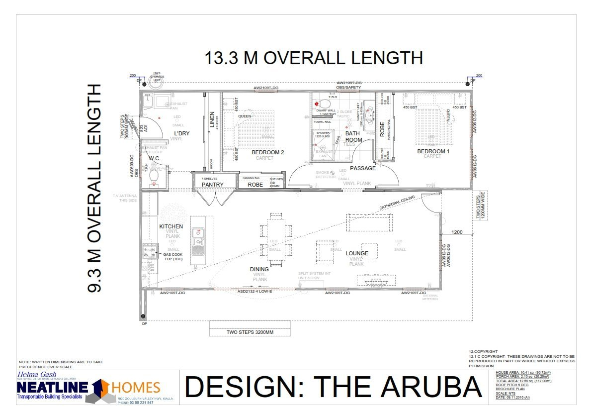 the aruba blueprint