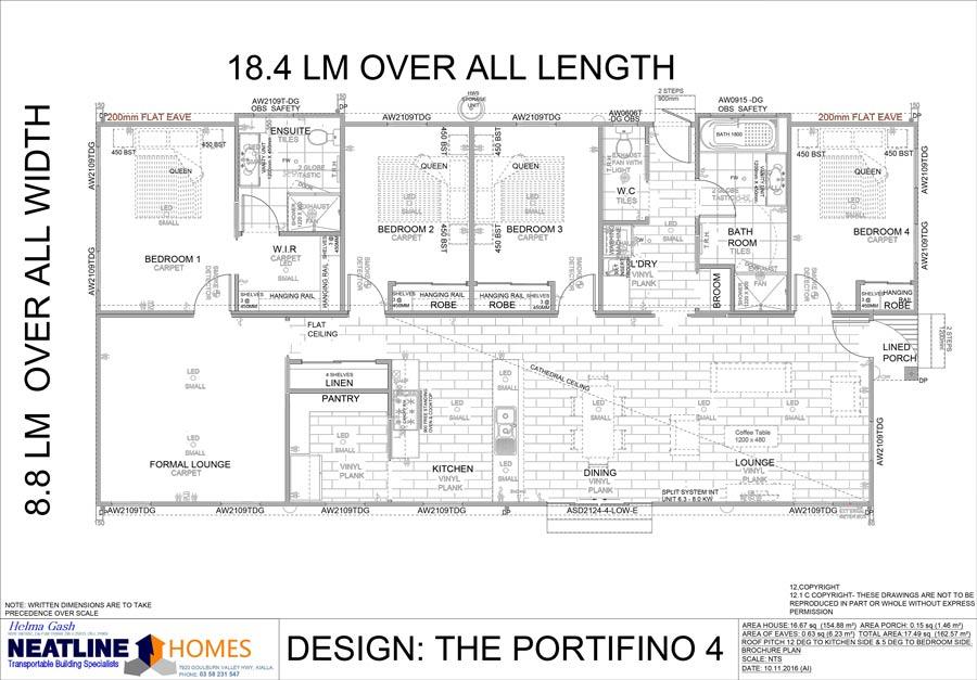 the portifinio 4 floor plan