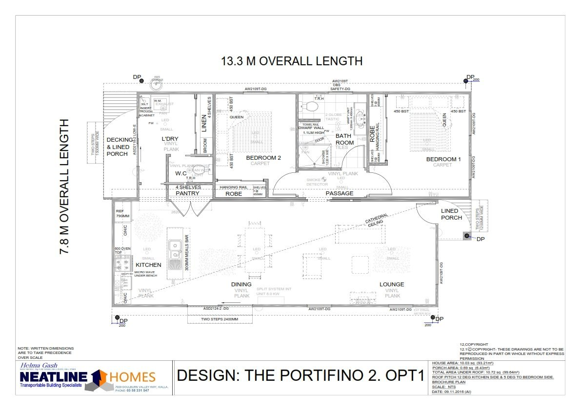 the portifino 2 opt 1 blueprint