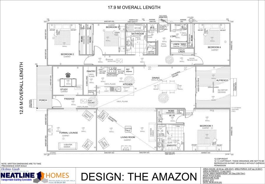 the amazon floor plan