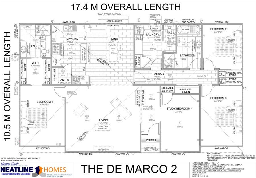 the de marco 2 floor plan