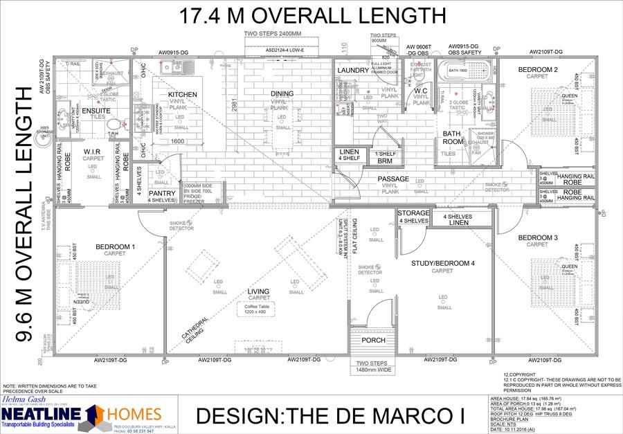 the de marco 1 floor plan
