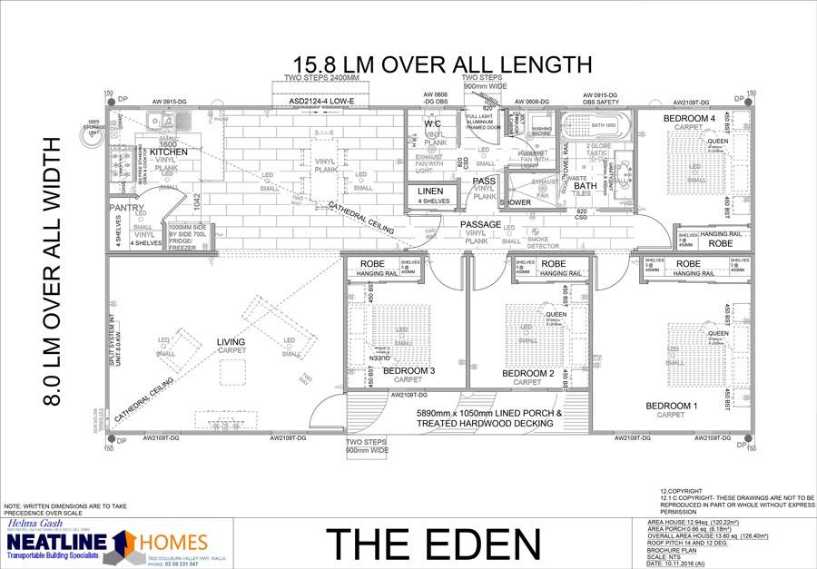 the eden floor plan