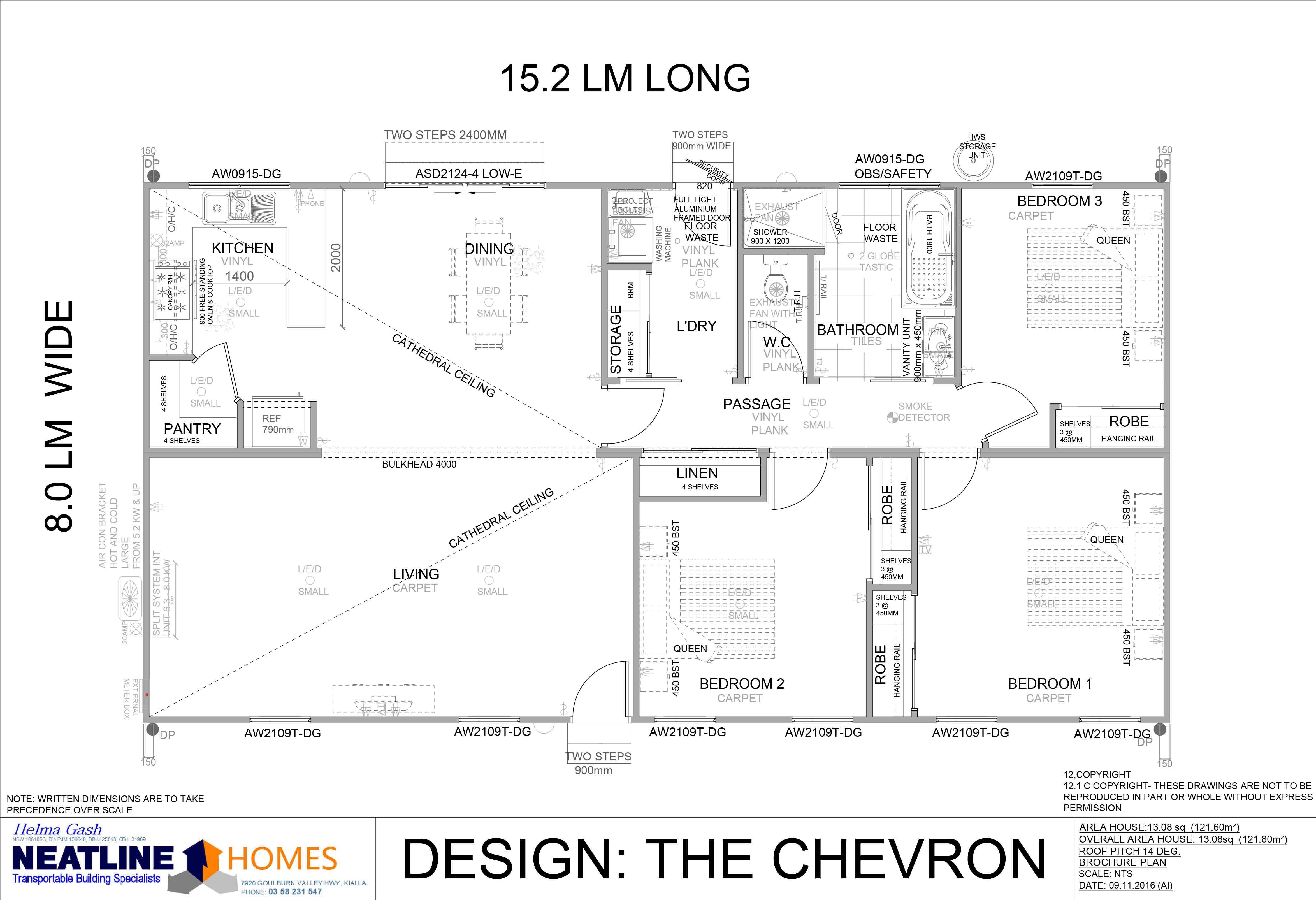 the chevron floorplan