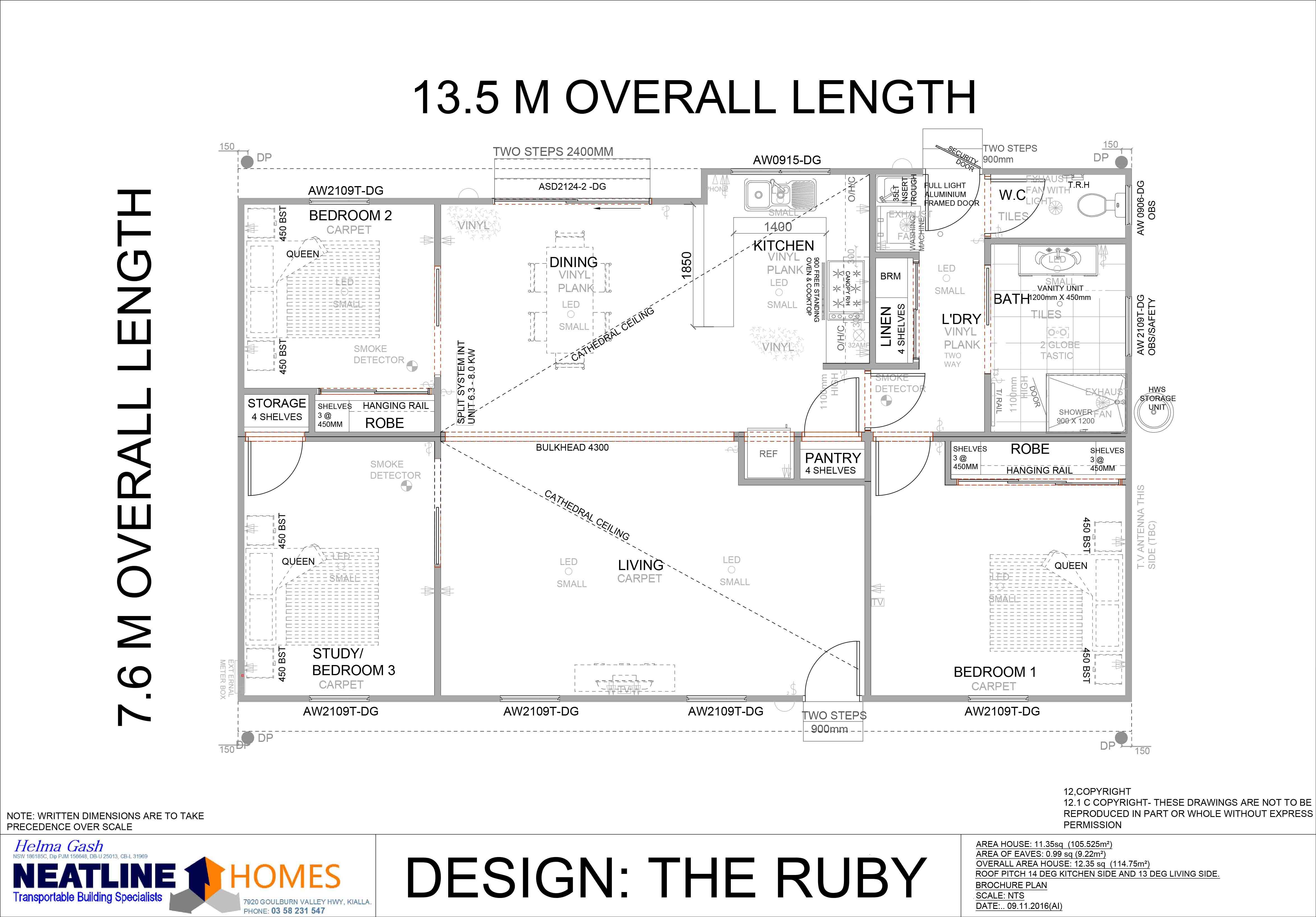the ruby floorplan