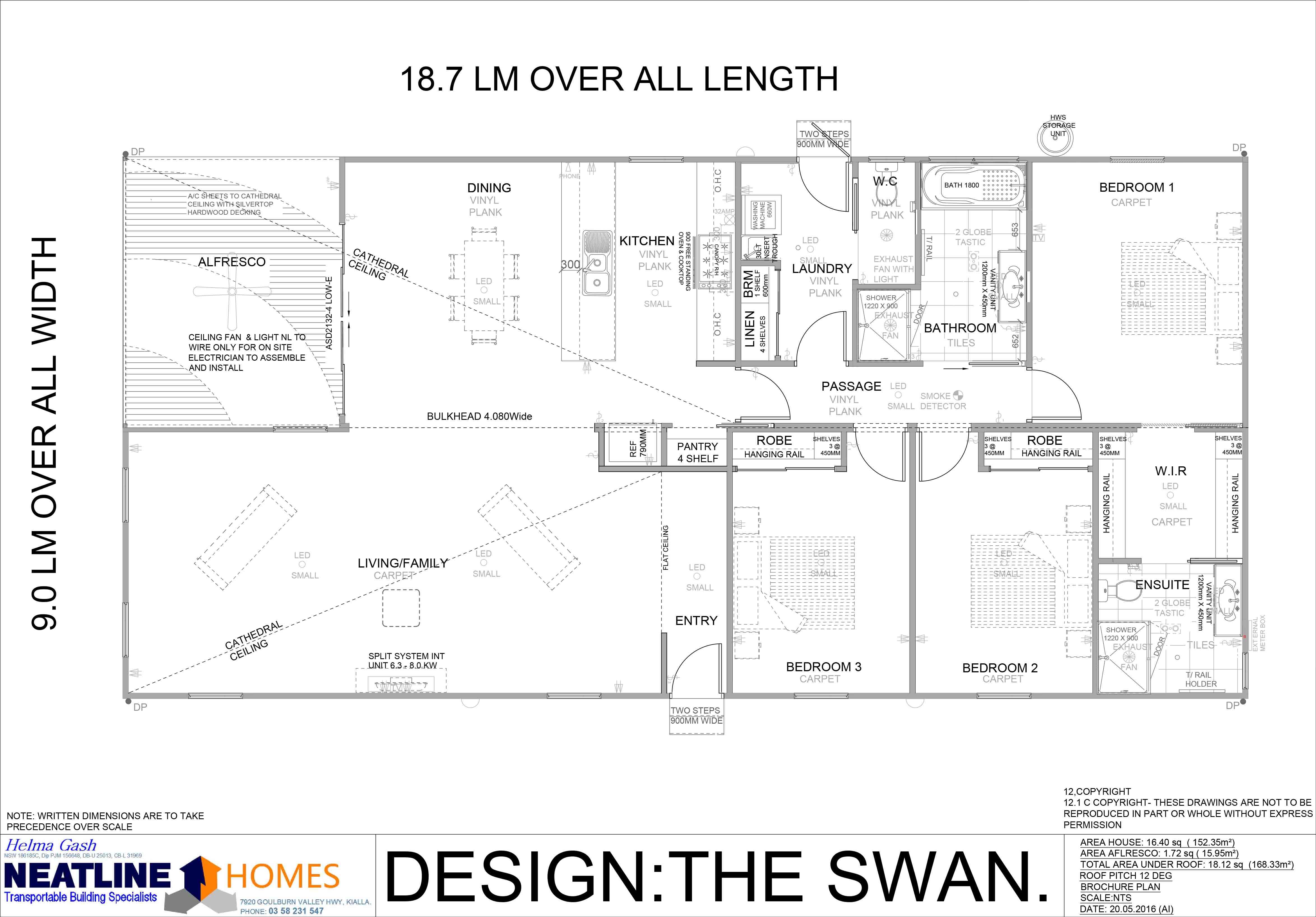 the swan floorplan