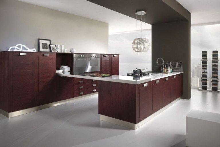 Cucine su misura crotone mazzea mobili - Cucina bordeaux ...